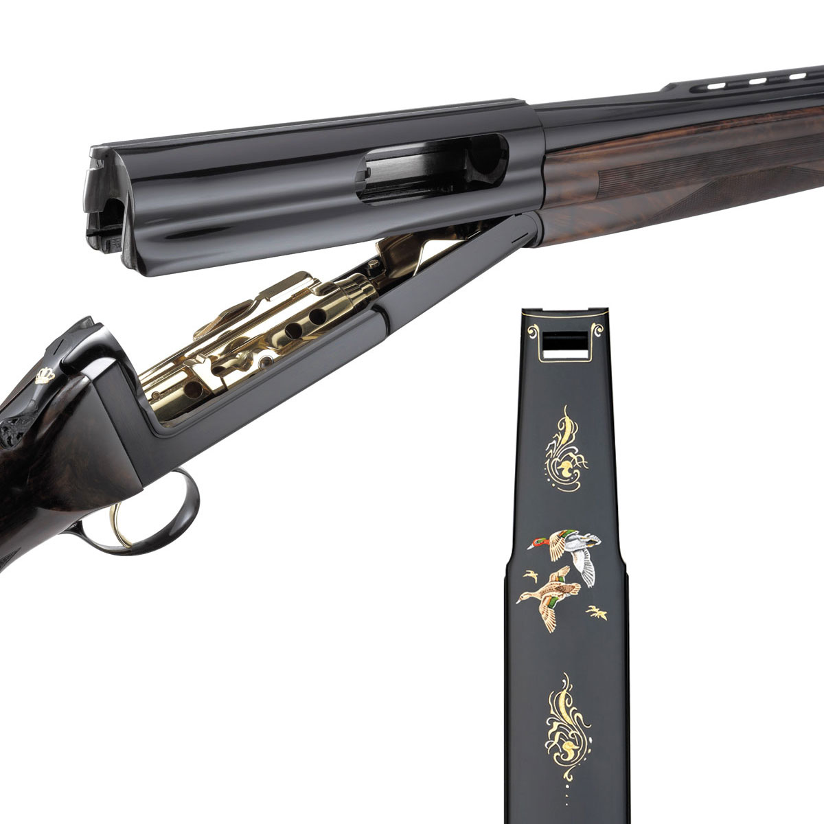 Cosmi Gold Edition semi automatic shotgun