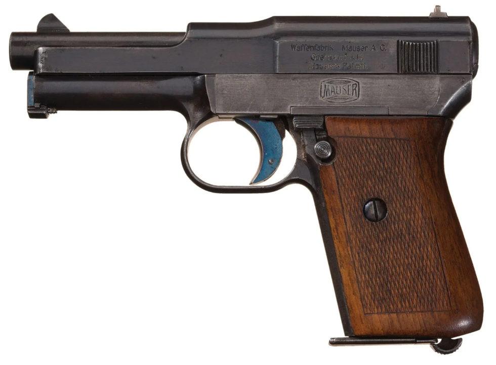 Mauser humpback automatic pistol