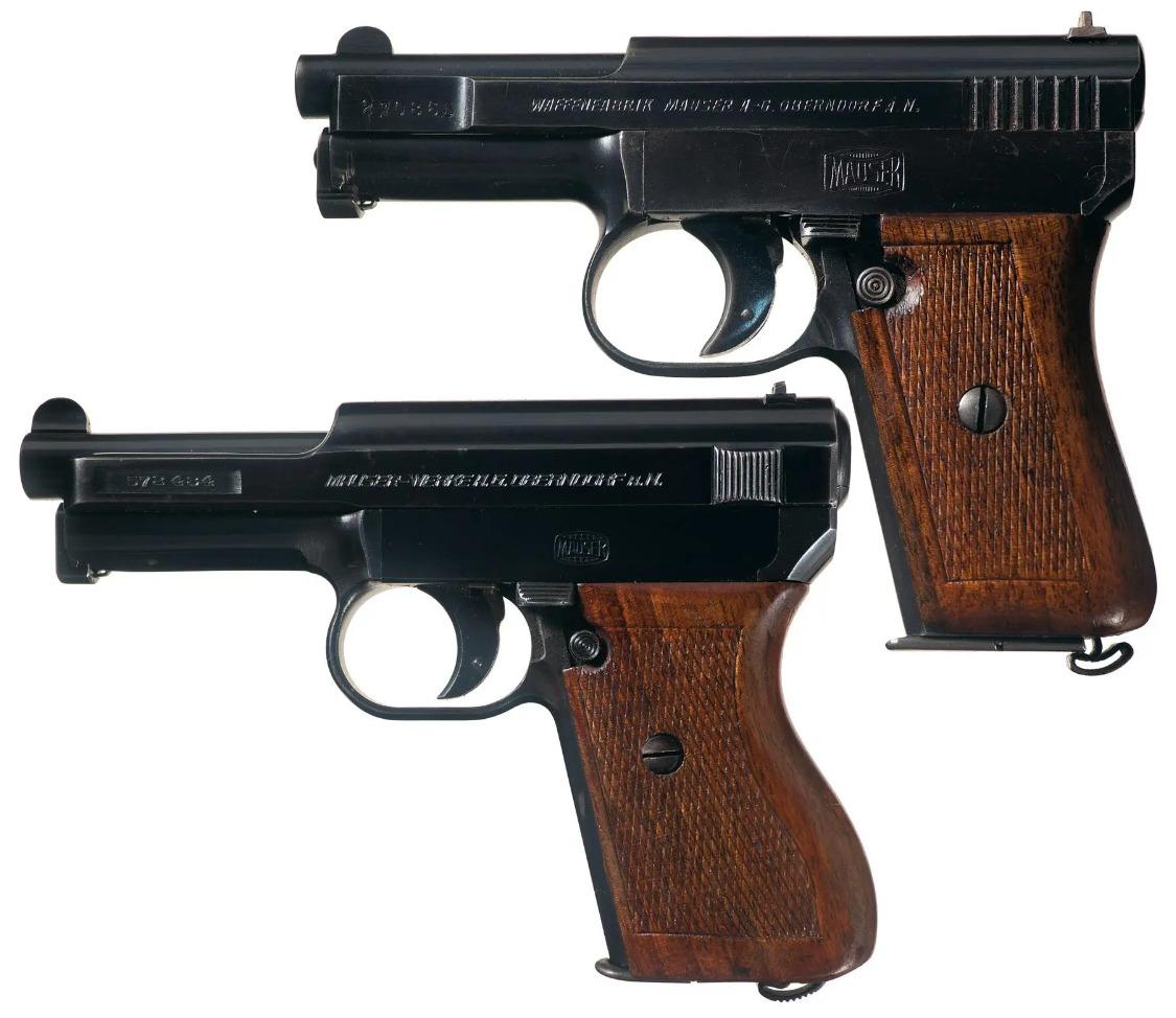 Mauser M1910 M1934 New Model automatic pistol