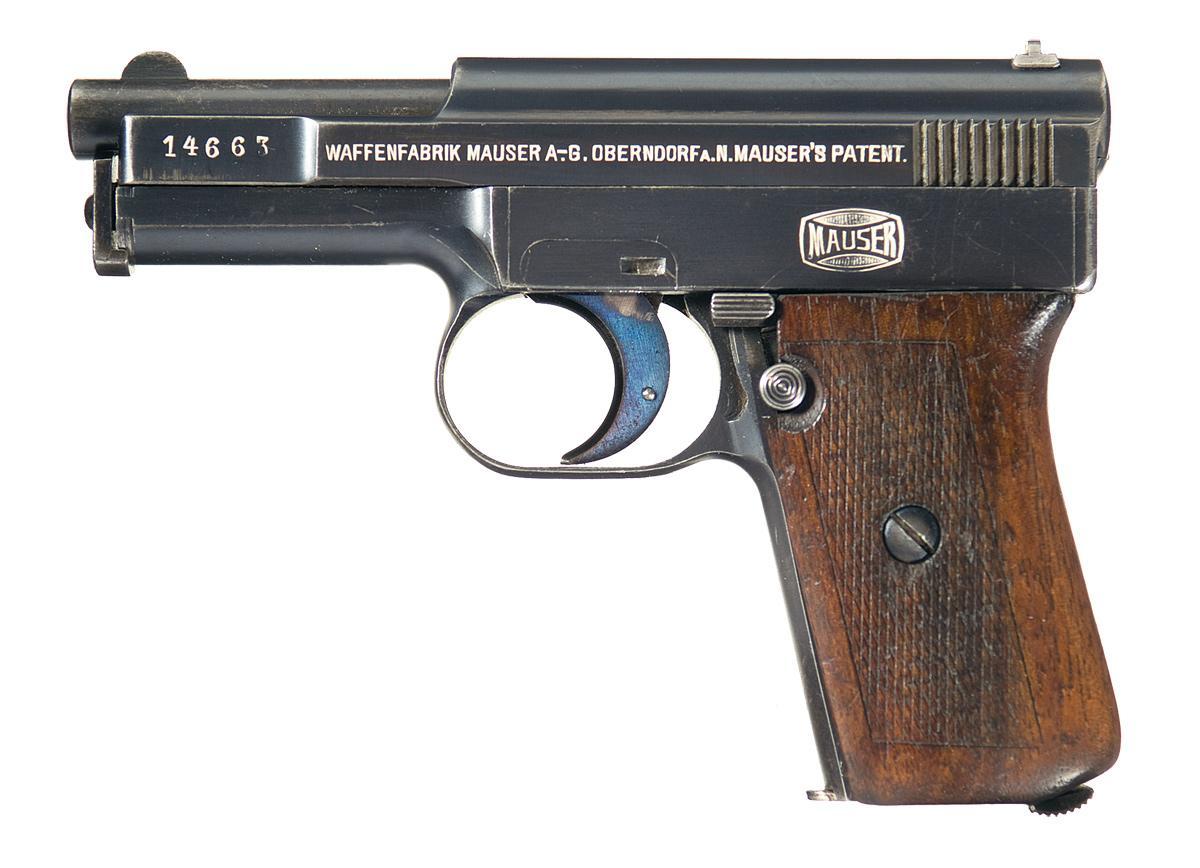 Mauser M1910 automatic pistol