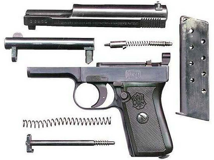 Mauser Model1910 automatic pistol
