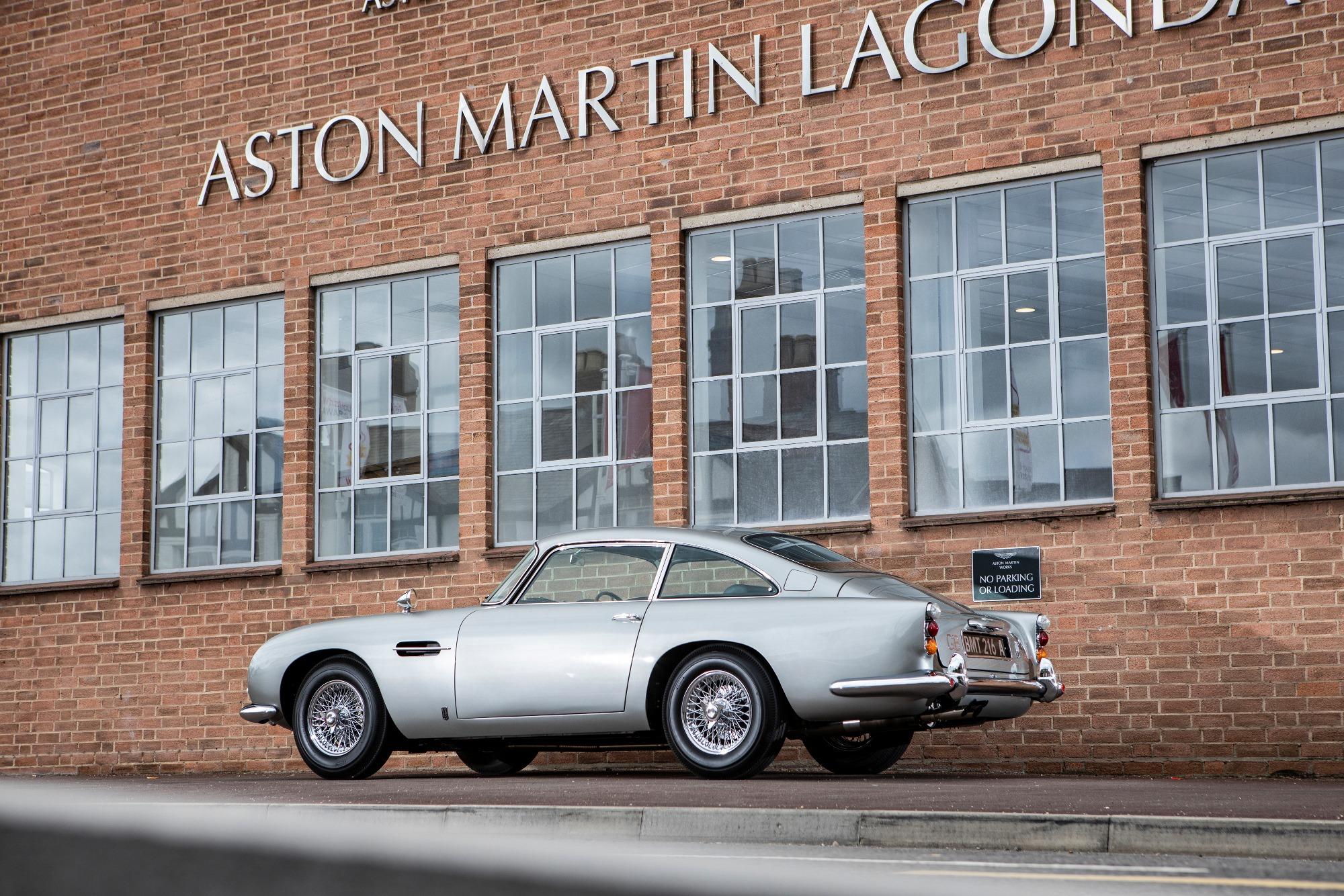 James Bond Aston Martin DB5 Goldfinger Thunderball