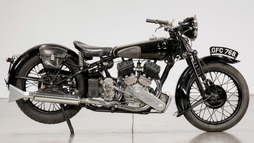 Brough Superior SS80 motorcycle