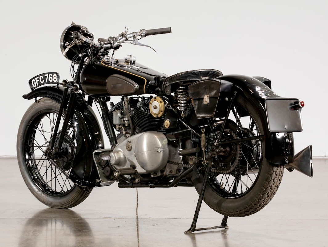 Brough Superior Matchless engine