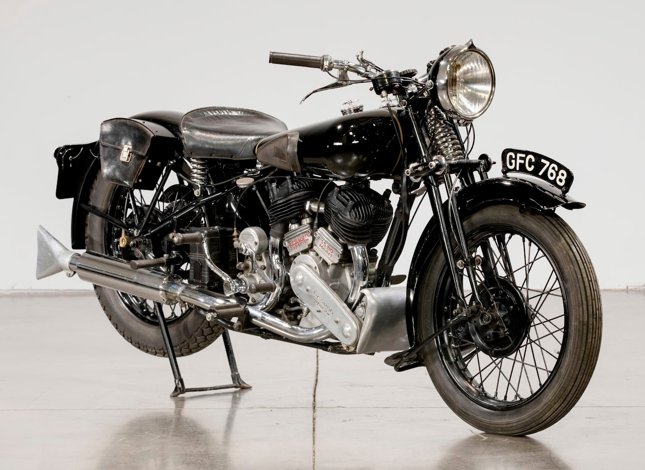 Brough Superior SS80 Matchless engine