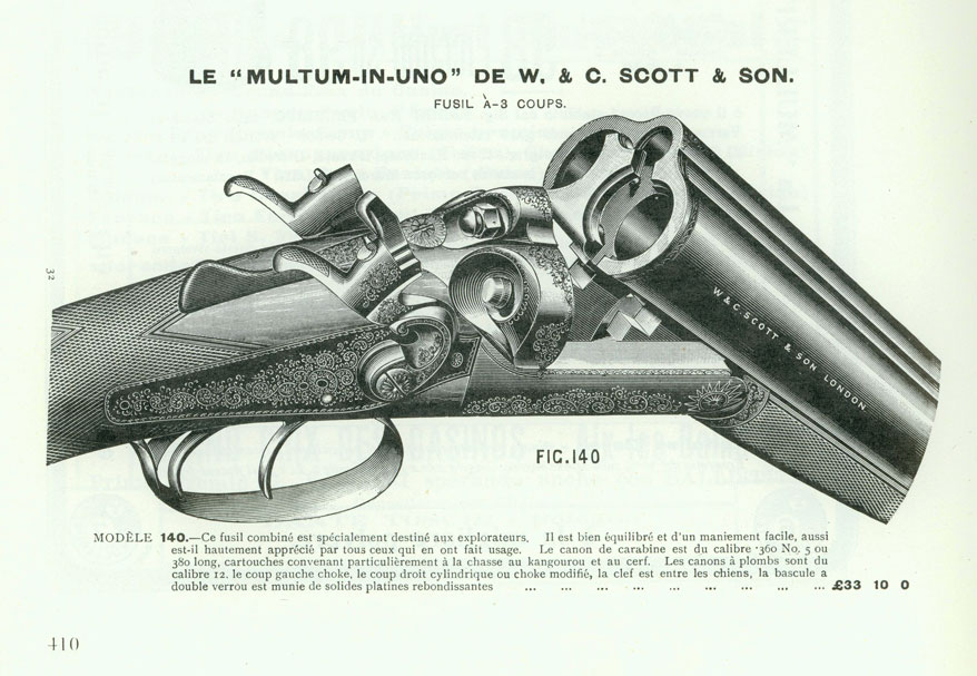W&C Scott Multum-In-Uno combination gun