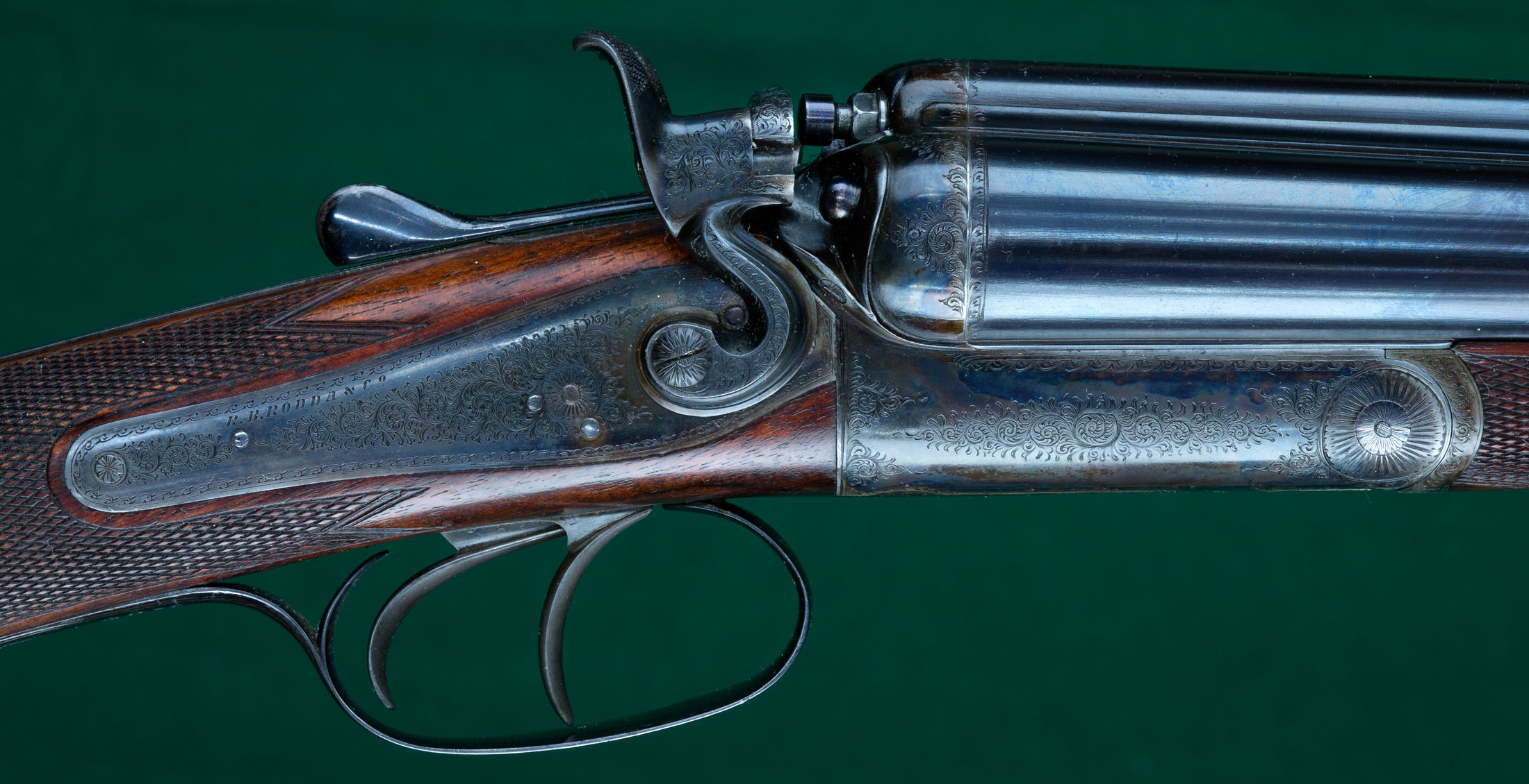 "British three barrel ""Multum-In-Uno"" combination gun Rodda"