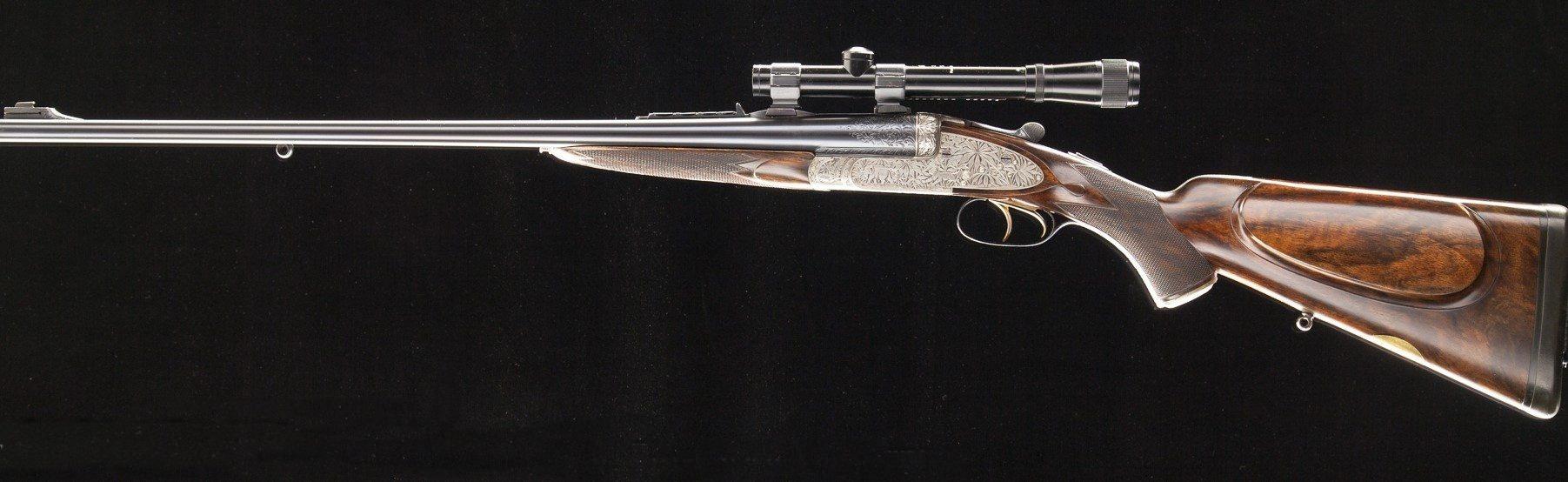 Rodda double rifle Mahraja of Panchkote