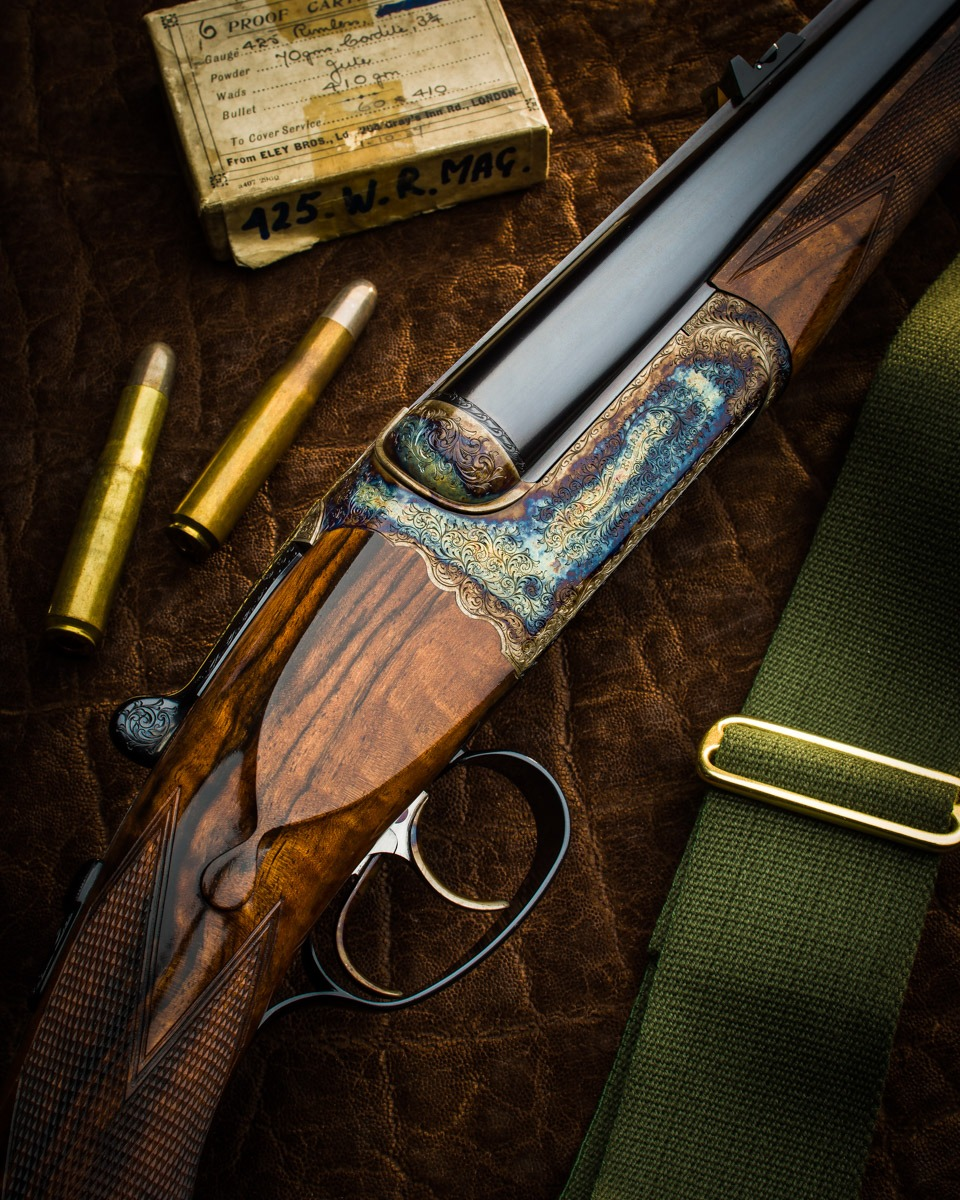 Westley Richards 425 Magnum Express double rifle