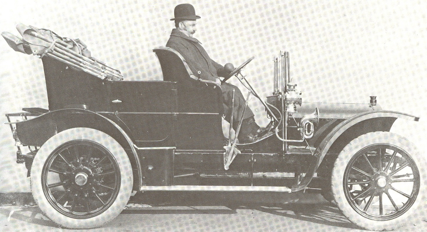 Herbert Austin car