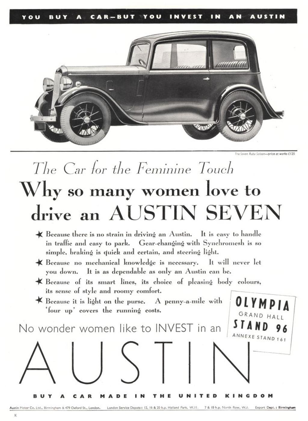 Austin7 advertisment