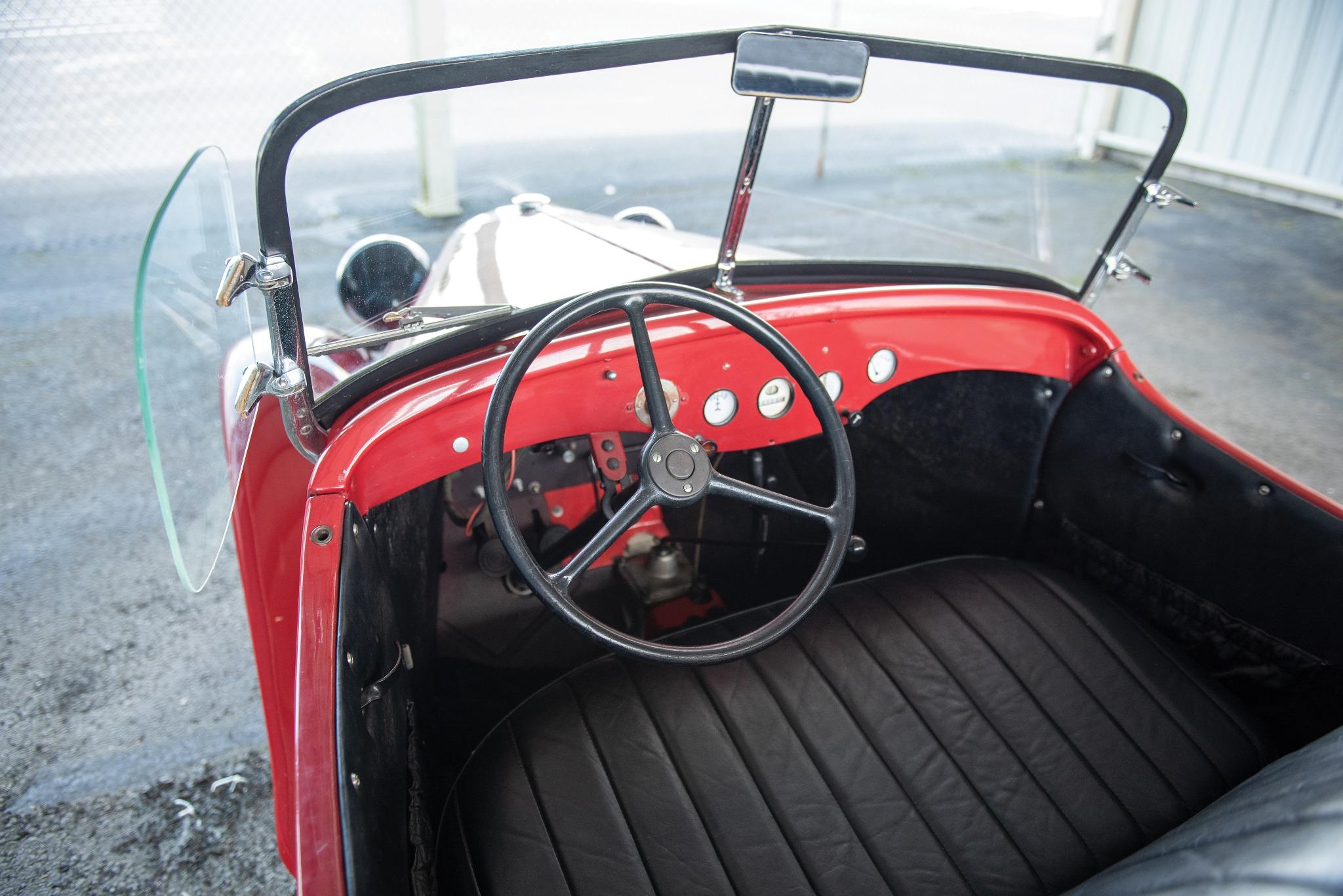 1937 American Austin interior