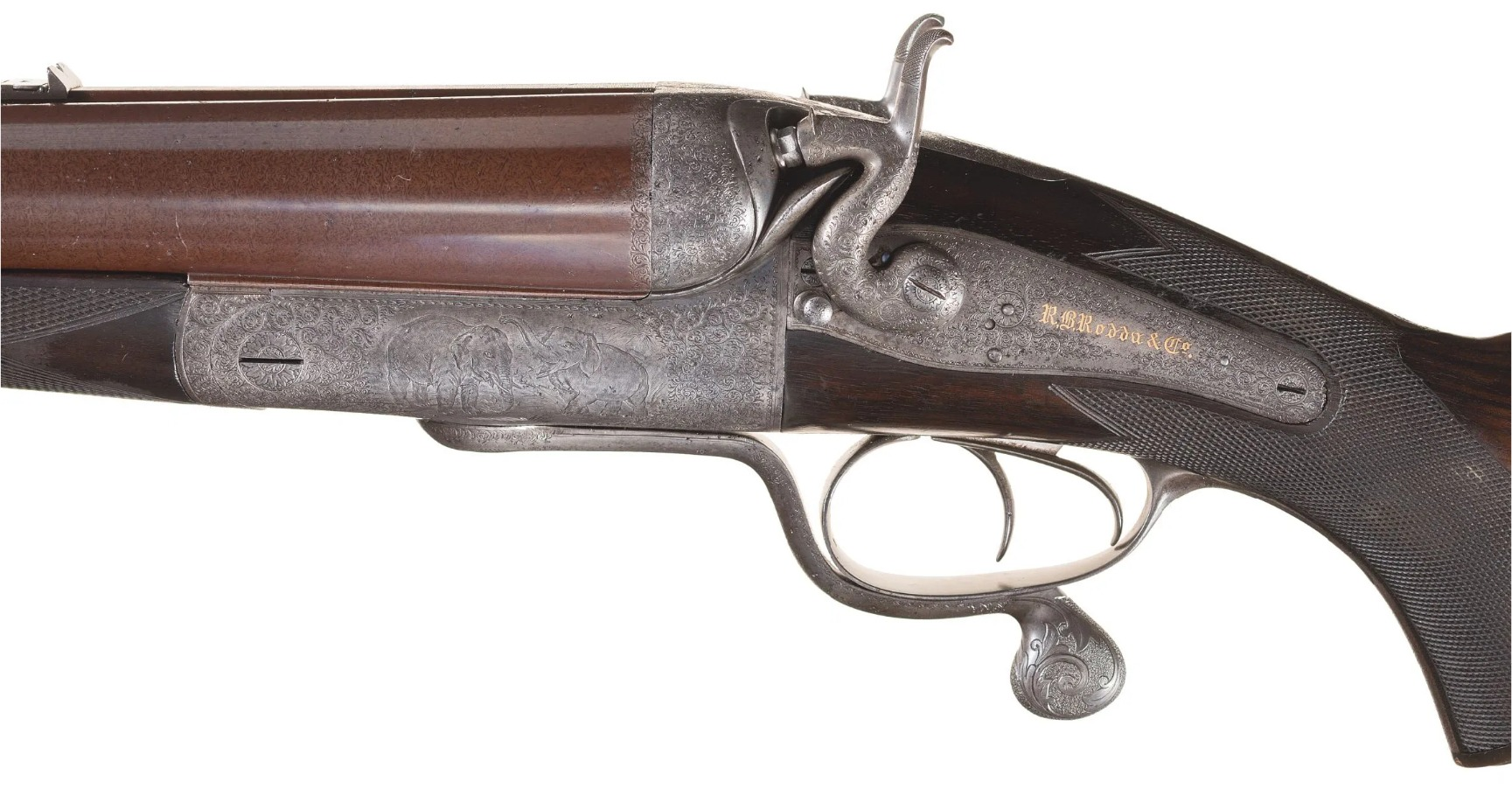 Rodda Four Bore Double Rifle