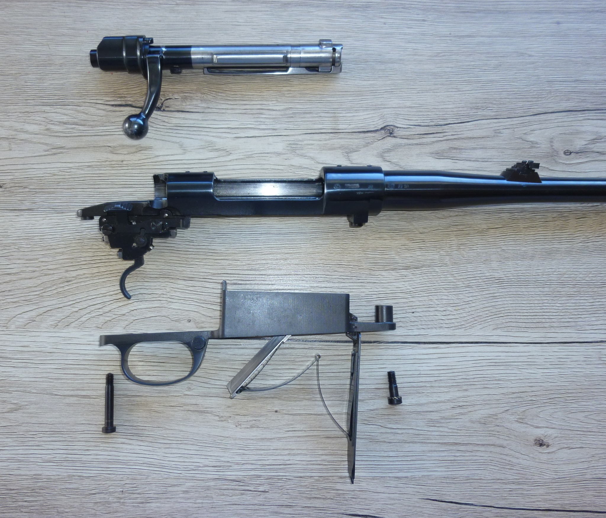 Zastava M70 barreled action