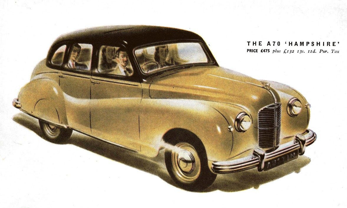 Austin A70 Hampshire car