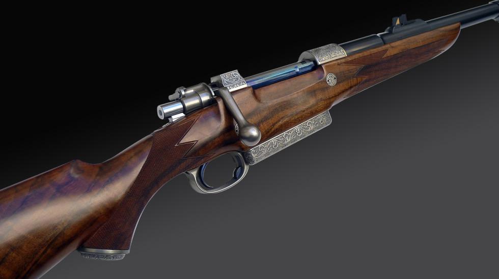 Dorleac & Dorleac magnum rifle