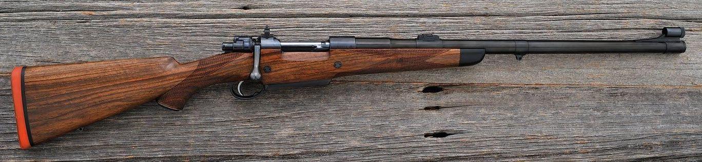 Duane Wiebe Mauser big game rifle