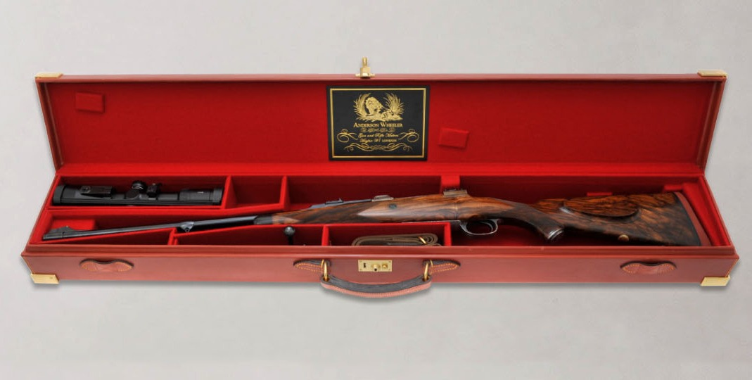 Anderson Wheeler cased rifle