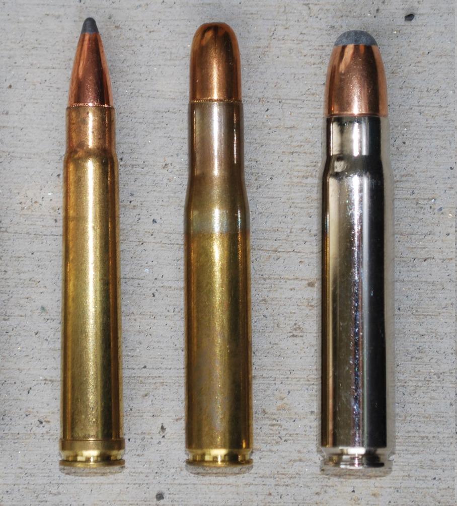 Big game rifle cartridges