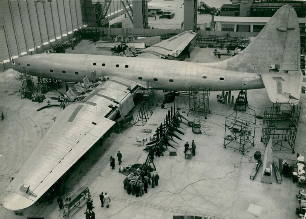Bristol Brabazon under construction