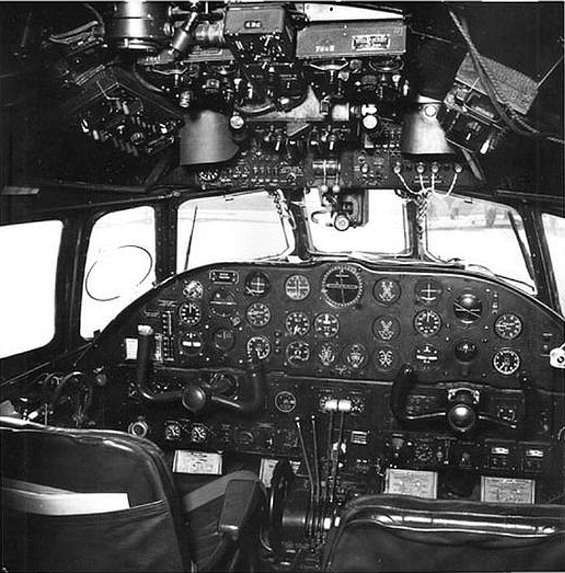 Bristol Brabazon cockpit