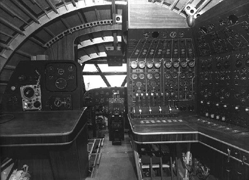 Bristol Brabazon flight engineer navigator positions