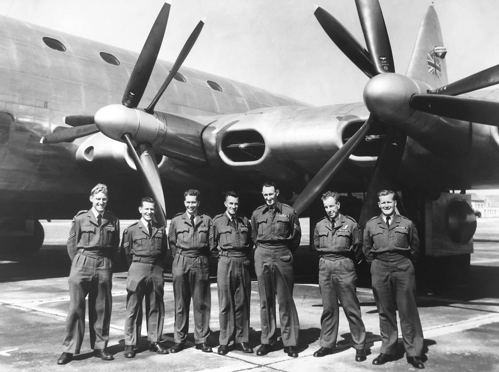 Bristol Brabazon test flight crew