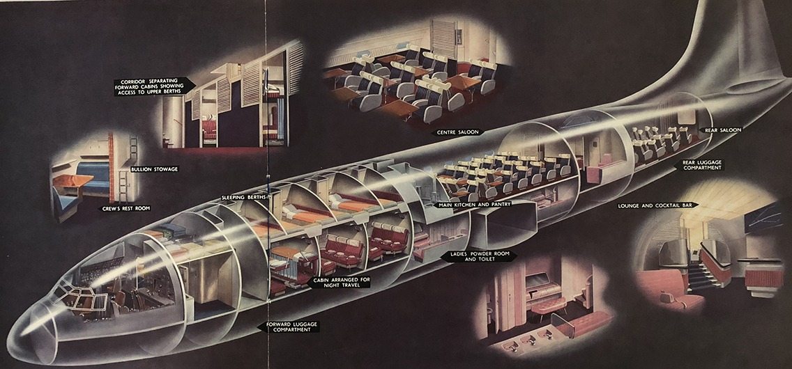 Bristol Brabazon interior layout