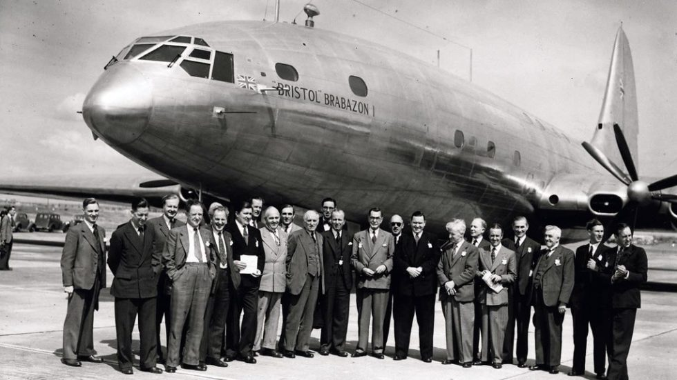 Bristol Brabazon First Wide Bodied Airliner