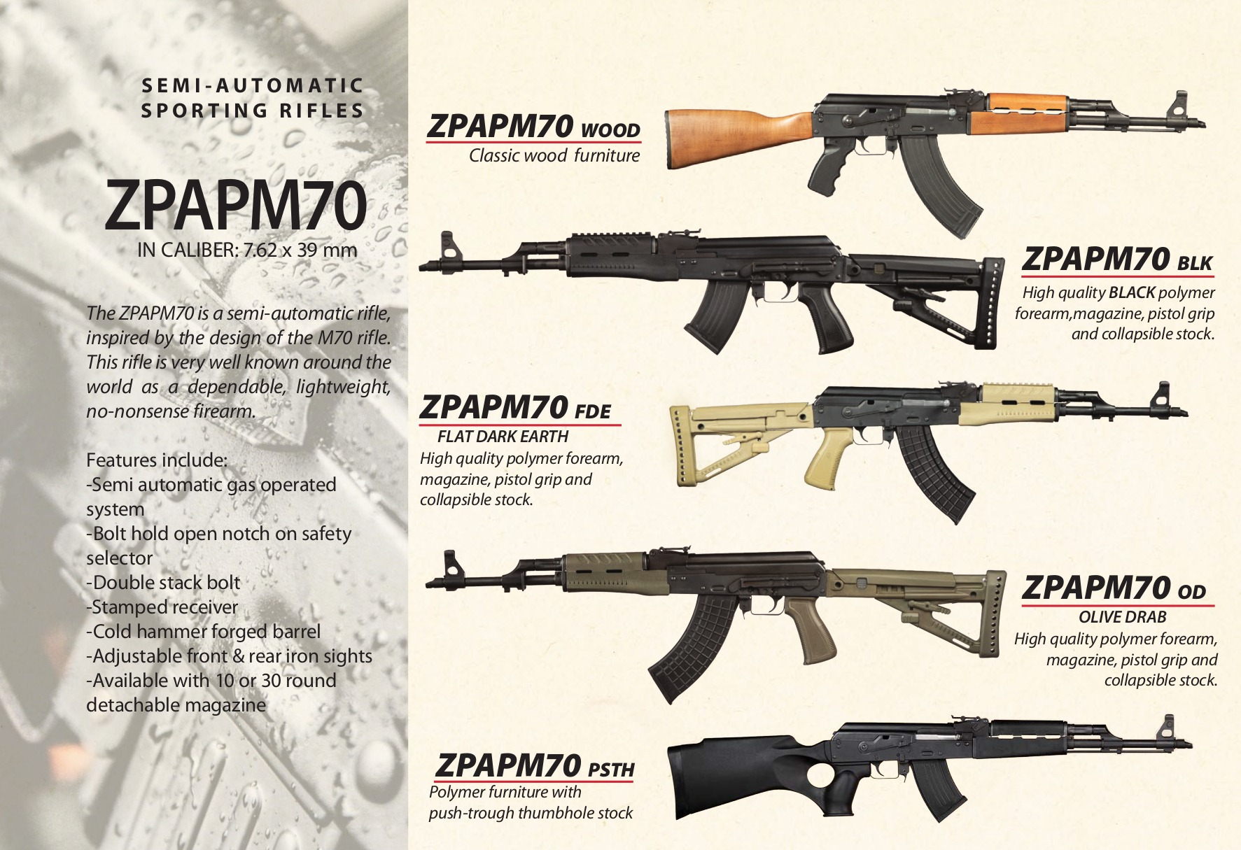 Zastava Arms USA AK sporting rifles