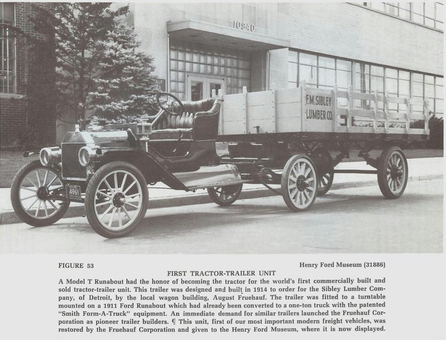 Ford Model T semitrailer