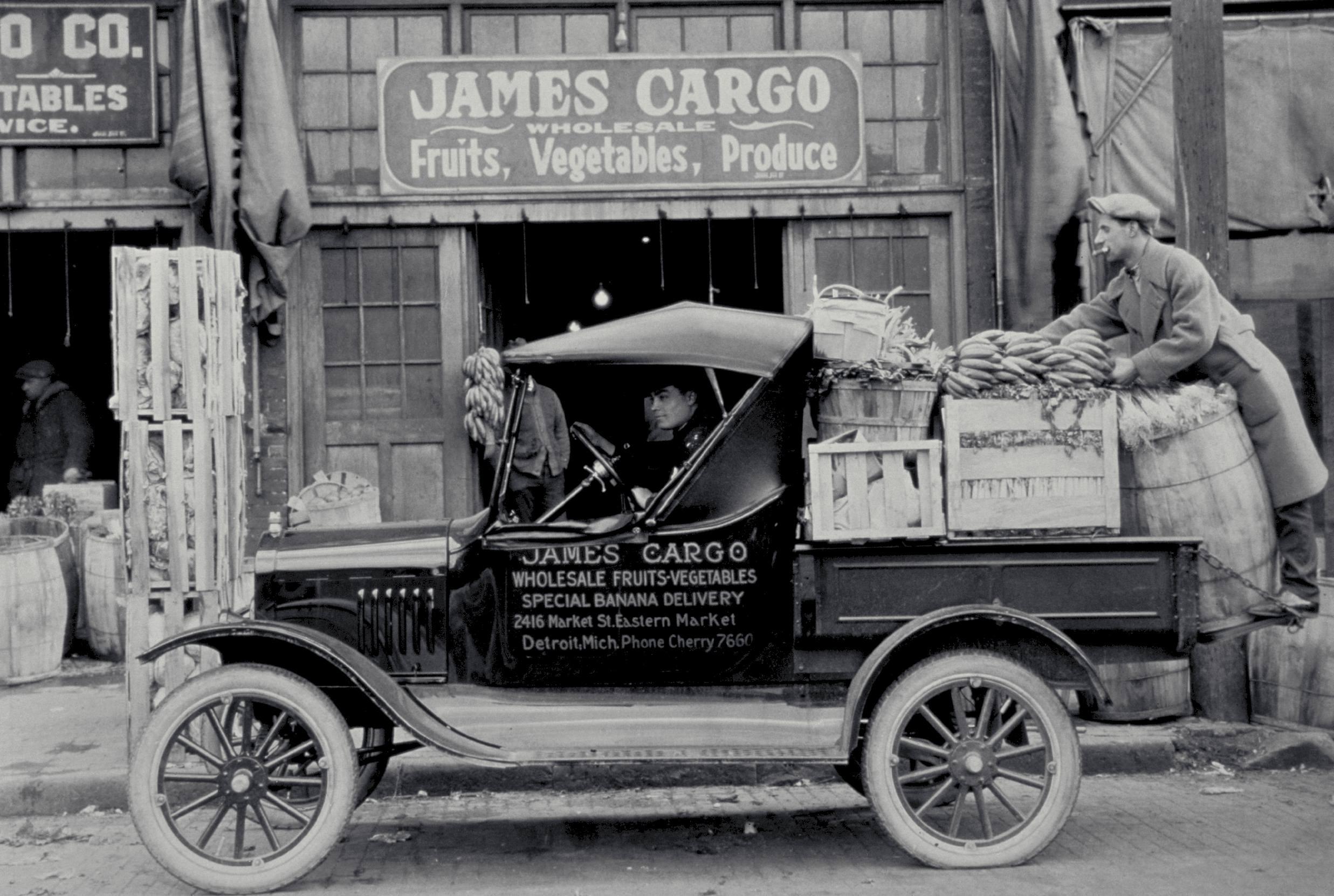 Ford Model T truck.