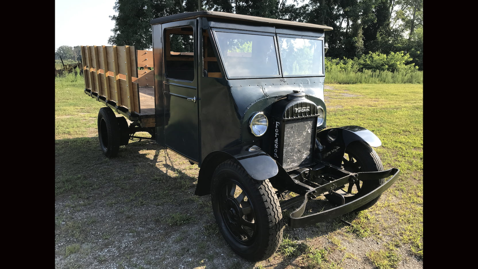 Fordson two ton truck