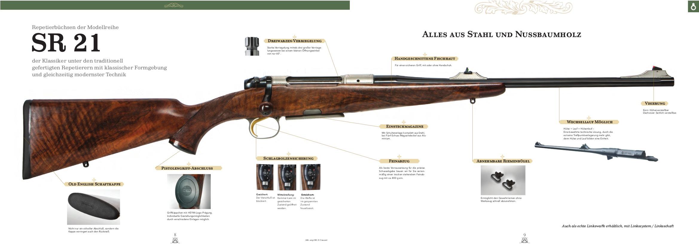 Heym SR21 sporting rifle