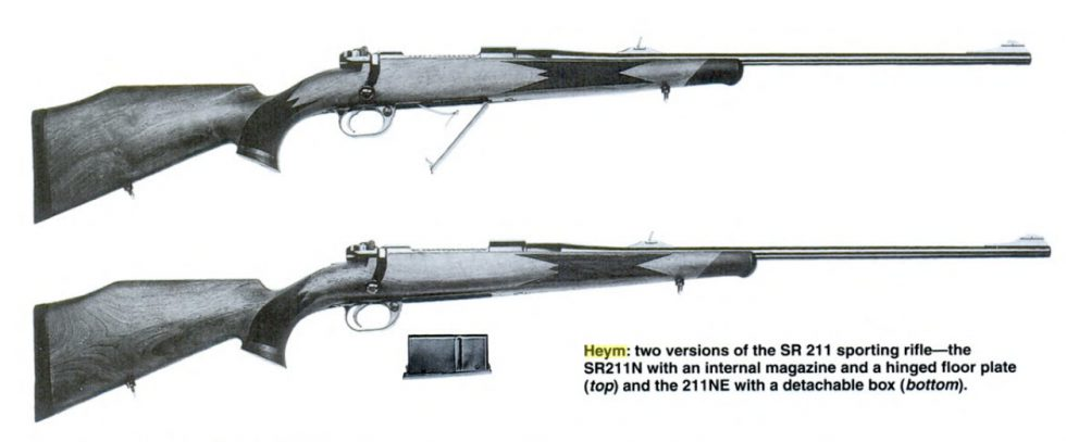 Heym SR21 sporting rifle