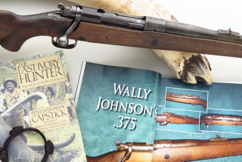 """The Last Ivory Hunter"" Wally Johnson Winchester Model 70"