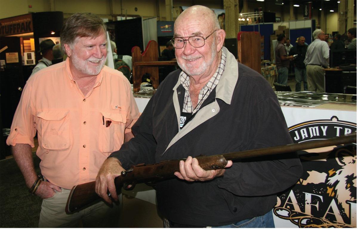 Joe Coogan Wally Johnson Winchester rifle