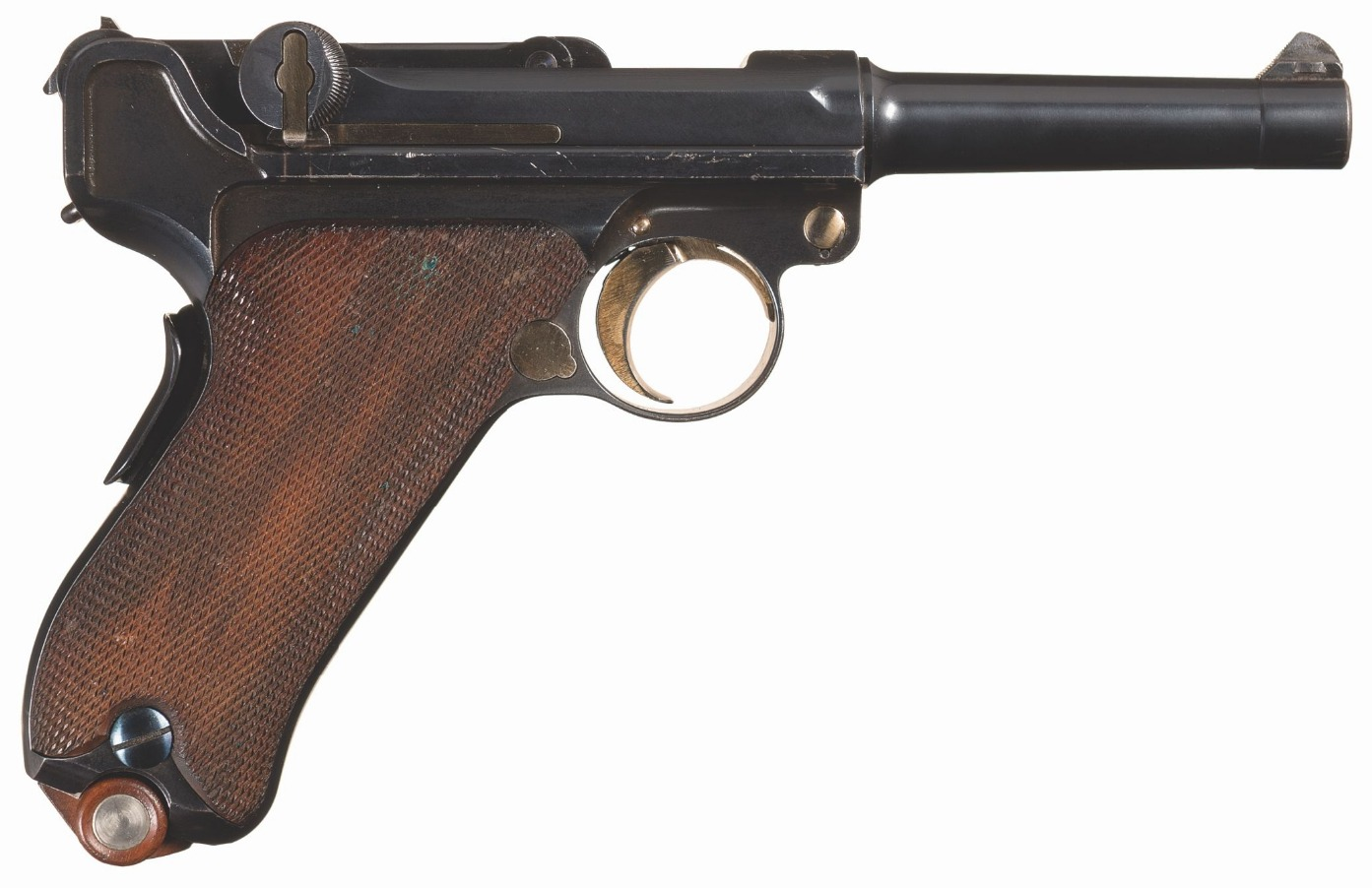 DWM Model 1902 American Eagle Cartridge Counter Luger Pistol