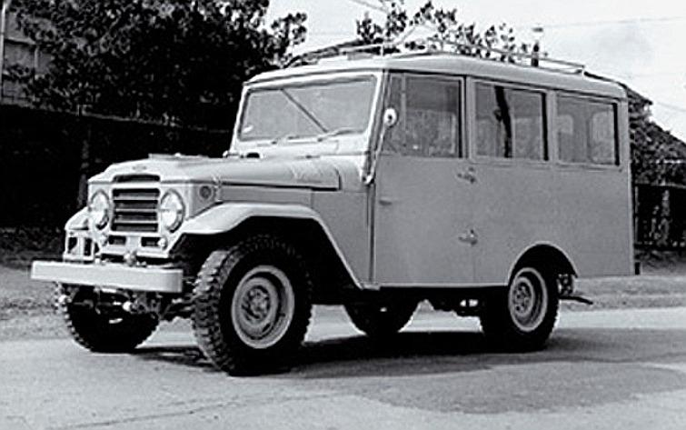 Toyota J20 station wagon
