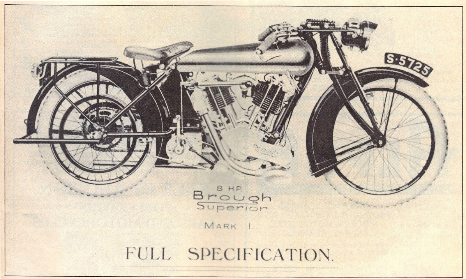 Brough Superior Mark1 8hp
