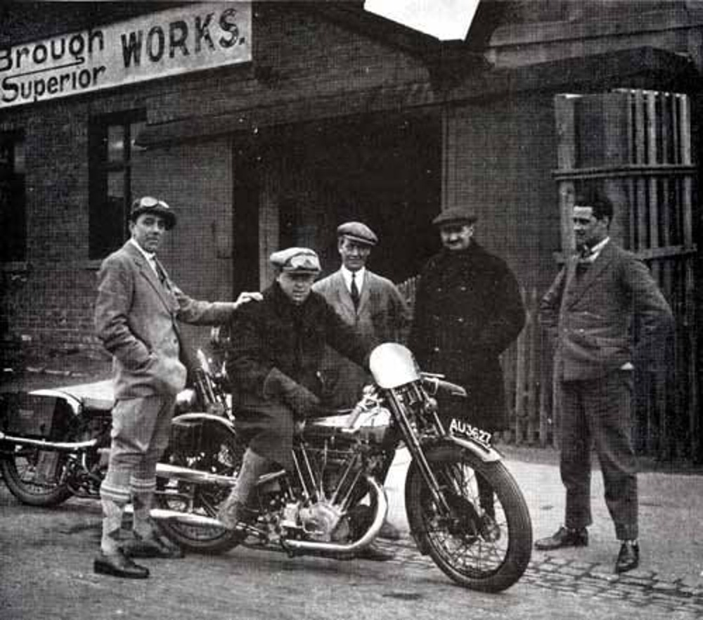 George Brough Superior factory
