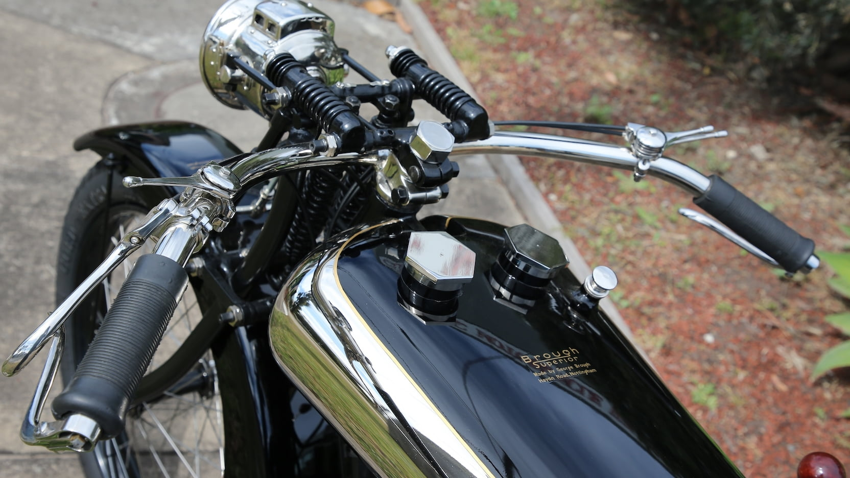 Brough Superior Mark1 motorcycle