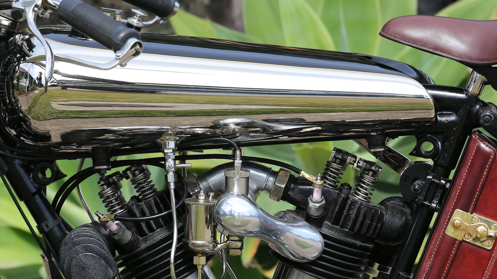 Brough Superior motorcycle fuel tank