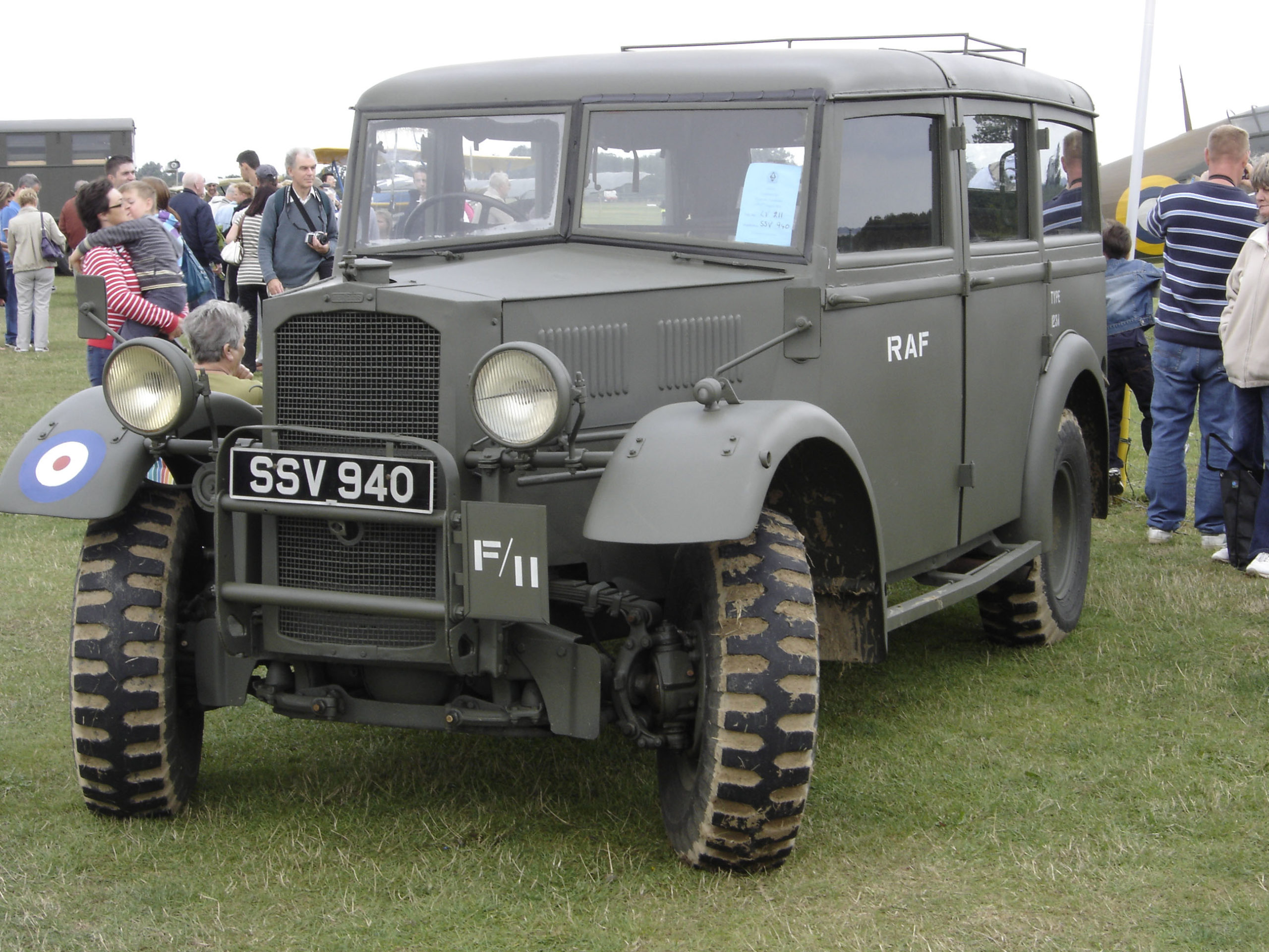 "Humber Heavy Utility ""Box"" military vehicle RAF"