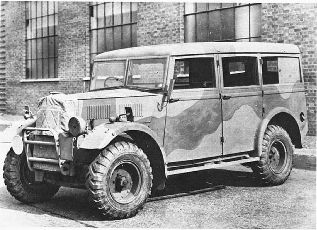 "Humber Heavy Utility ""Box"" military vehicle"