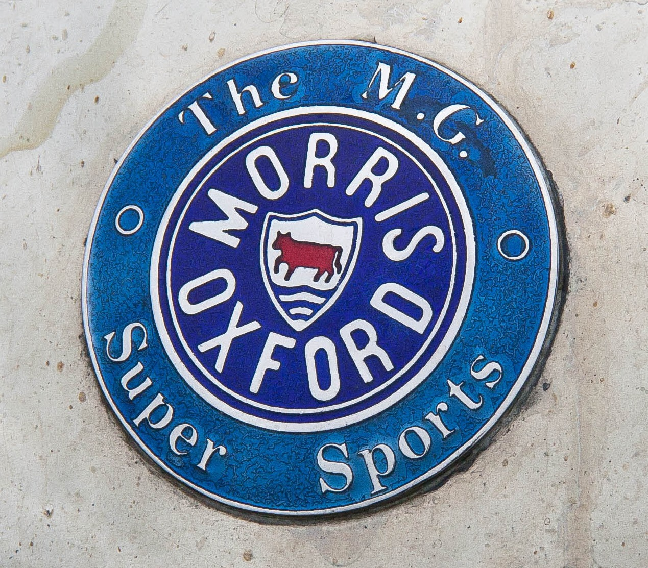 Original Morris Garages MG logo