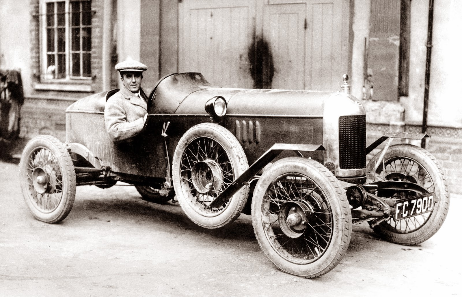 Cecil Kimber MG Old Number One
