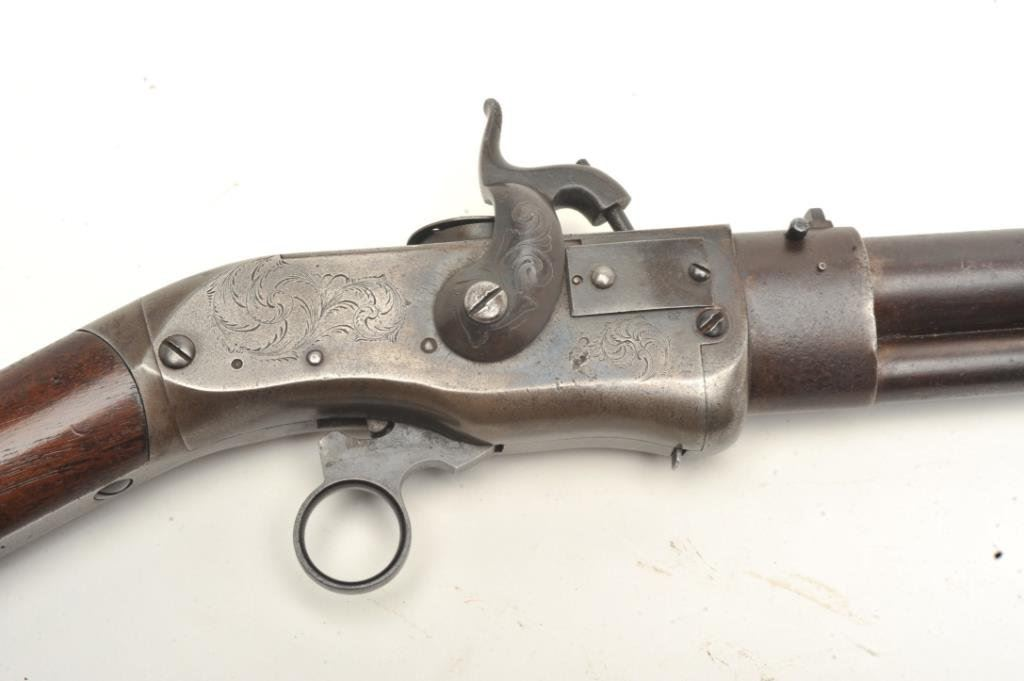 Smith Jennings breechloading lever action rifle