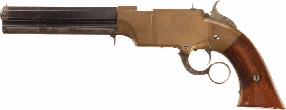 New Haven Arms Volcanic lever action pistol