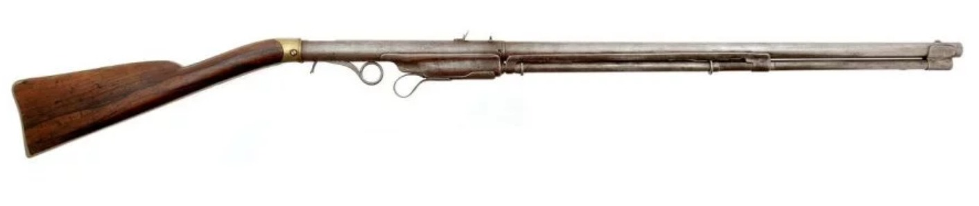 Hunt Volition breechloading lever action rifle